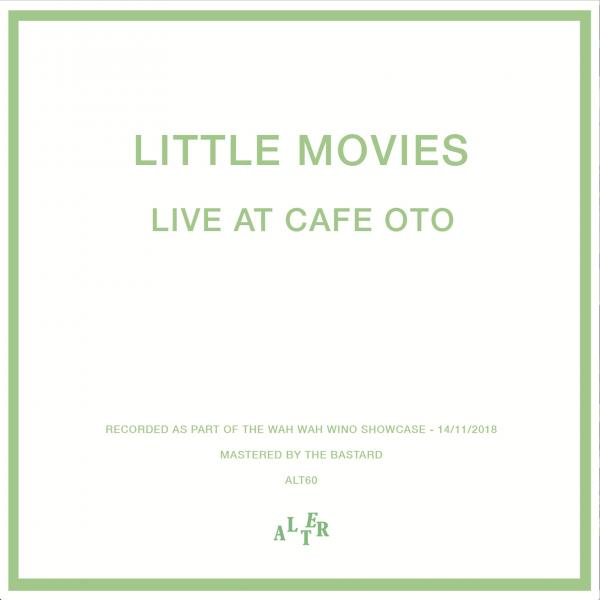 Live At Cafe Oto artwork